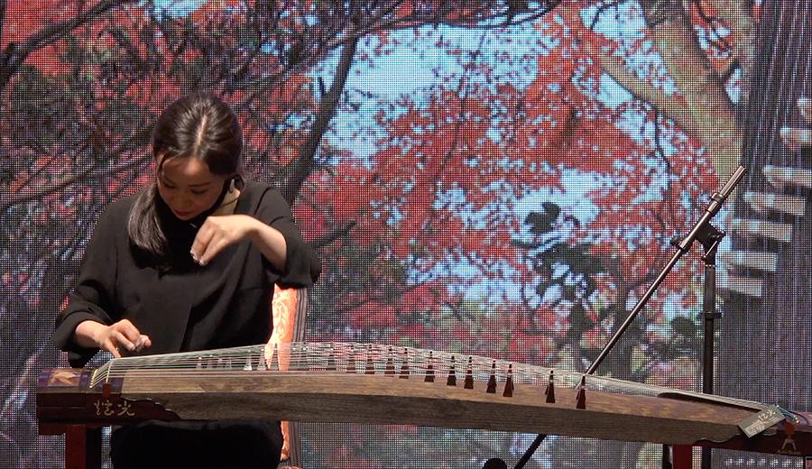 四川音樂學院民樂系古箏專業 - 陸晶教授示範《茉莉芬芳》(視頻分享)